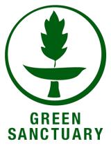 "We Follow ""Green Sanctuary"" Standards"