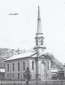 Exterior of UCM circa 1874